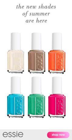 Essie Summer Collection - Summer is here!