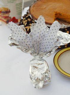 turkey tin, bag, tin foil