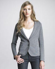 Splendid Sydney Striped Blazer