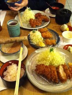 "Katsu Hama - Only ""real"" tonkatsu restaurant in the city. They do it real good. Get the any of the berkshire katsu!"