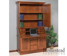Grand Secretary Desk. http://homesteadfurnitureonline.com/secretary-desk_grand-secretary.html