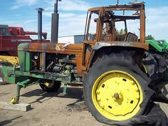 John Deere 4430 tractor salvaged for used parts. Call 877-530-4430 for the best selection of used ag parts. http://www.TractorPartsASAP.com