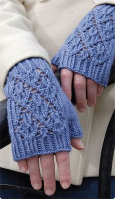 Point Reyes Mitts - Classic Elite Yarns