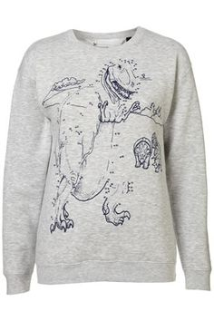 Dot to Dot Dinosaur Sweatshirt By Tee And Cake - StyleSays