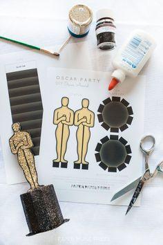 PMP_oscar_award_printable_ballot_free_printable003 @ Paper Muse Press
