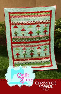 forests, quilt patterns, christma forest, quilts, christmas