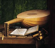 """""""...and a lute joined in, and was discarded for the guitar, cleanly executed."""""""