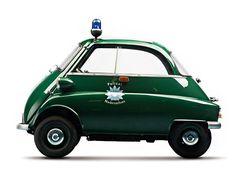 BMW Isetta 300 Police Car