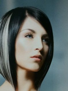 I love dark hair AND inverted bobs! First thing I am doing if I get this job lol getting my hair done...its been far too long!