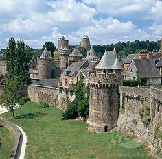 Fougeres (Ille-et-vilaine), Fougeres Castle, Brittany, France
