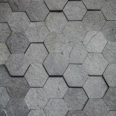 slate like hex tiles