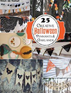 25 Creative Halloween Buntings