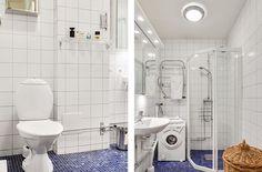 Swedish bathroom.