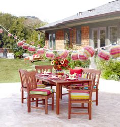 Outdoor Entertaining with Cost Plus World Market