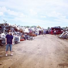 What happens at the junk yard stays at the junk yard #feelintrashy #thefoodmovie