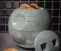 Death Star Cookie Jar http://www.thisiswhyimbroke.com/death-star-cookie-jar