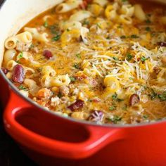 One Pot Chili Mac and Cheese Recipe - ZipList; possible fair parade.