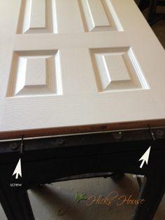 The easiest way to paint doors