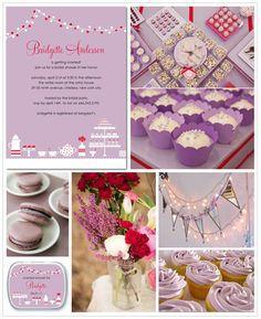 Lavender bridal shower inspiration