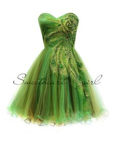 Metallic Peacock Holiday Prom Homecoming Dress from Sweetheart Girl