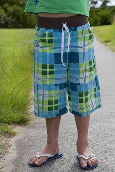 Long Board shorts // make it perfect pattern
