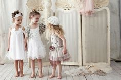 Pajes boda. Tutu du monde Spring Summer Collection 2012 photo shoot outfits, little girls, photography backgrounds, kids fashion, tutu du, playing dress up, flower girl dresses, flowers, flower girls