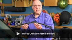 DIY video: How to Change Windshield Wipers.