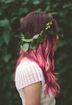 pink ombre