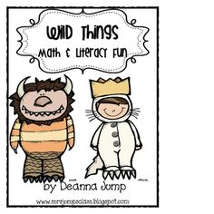 The activities in this packet are based on the book, Where the Wild Things Are by Maurice Sendak.  The activities incorporate literacy and math.  I...