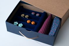 earring jewelri, craft, jewelri box, gift ideas, diy cufflink