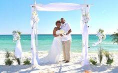 "Beach Wedding ""Arbor"" for Monai"