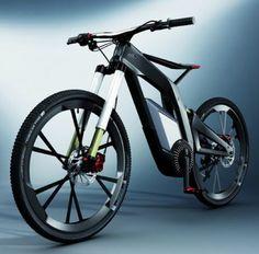 Audi's 40mph electric bike