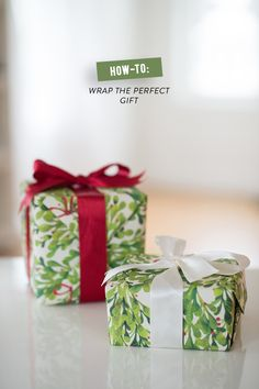 How-to: Wrap the Perfect Gift with Paper Source  Read more - http://www.stylemepretty.com/living/2013/12/12/how-to-wrap-the-perfect-gift/