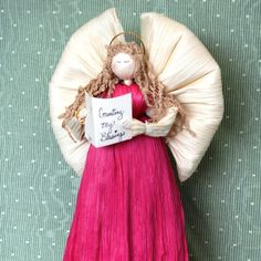 Corn shuck doll from the Appalachian Home Store ~ memories of the past ~   The variety of crafts produced within the Appalachian region of Eastern Kentucky is a delight for visitors and local residents.