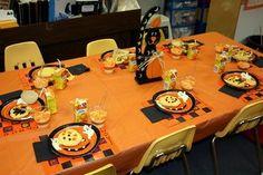 Preschool Halloween Party; use ideas for Thanksgiving feast...