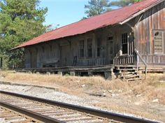 Old train depot