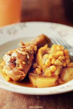Casserole z kurczakiem, kukurydzą i ziemniakami - Przepis
