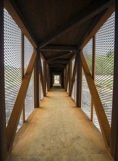 Høse Bridge, Norway by Rintala Eggertsson Architects