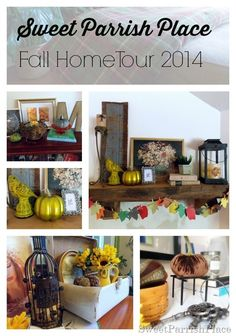 Sweet Parrish Place: Fall Home Tour