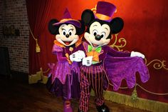 Where to find characters at Mickey's Not So Scary Halloween Party