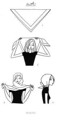 MaiTai's Picture Book: Scarf knotting cards - Vol II