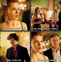 One of my favorite scenes from season 2 of BBC Sherlock is this one with Molly and the phone at the Xmas party- this gif from the blog THE-WORKING-CONSULTANT-  DETECTIVE