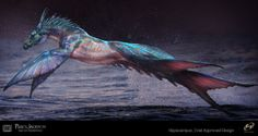 Percy Jackson: Sea Of Monsters art_Hippocampus