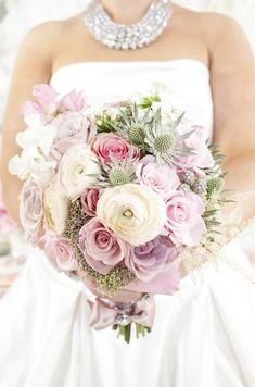 bridal bouquets, blushing bride, color, wedding bouquets, pastel weddings, brides, bouquet wwwwisteriaavenuecouk, clingen, flower