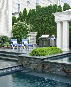 Dreamy pool patio