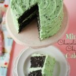 Mint Chocolate Chip Cake!