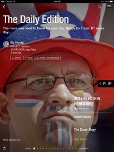 """2014 election heats up, """"truth about trolls"""" and what's new at the box office. Check out today's edition: flip.it/dailyedition"""