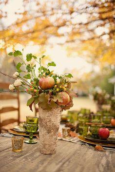 fall table...