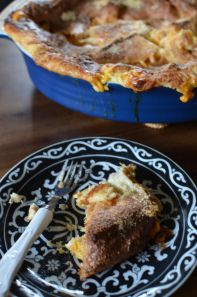 Grilled Cheese Bread Pudding