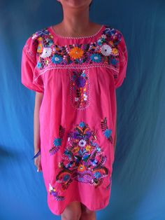 Mexican Fantastic Embroidered Vintage Style by madeintechnicolor, $38.00